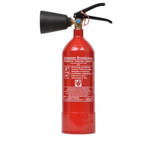 Gewerbe Feuerlöscher 2 Kilo K2J