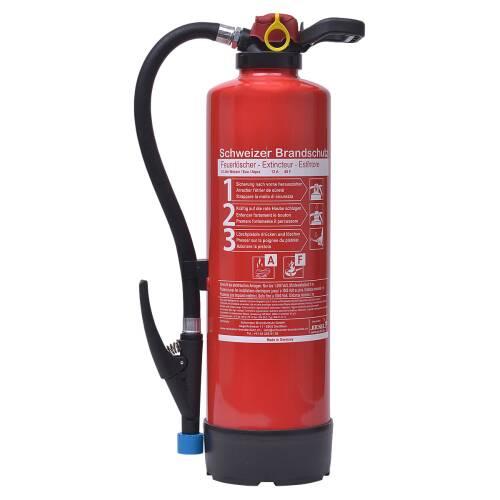 Gewerbe-Feuerlöscher Wassernebel 6 Liter