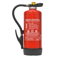 Übungs-Feuerlöscher 9 Liter Schaum