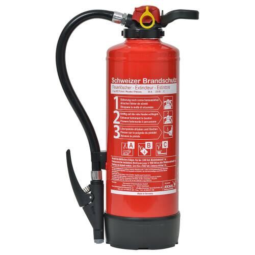 LKW Feuerlöscher Pulver 6 Kilo