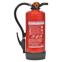 Pulver-Feuerlöscher 9 Kilo P9J55